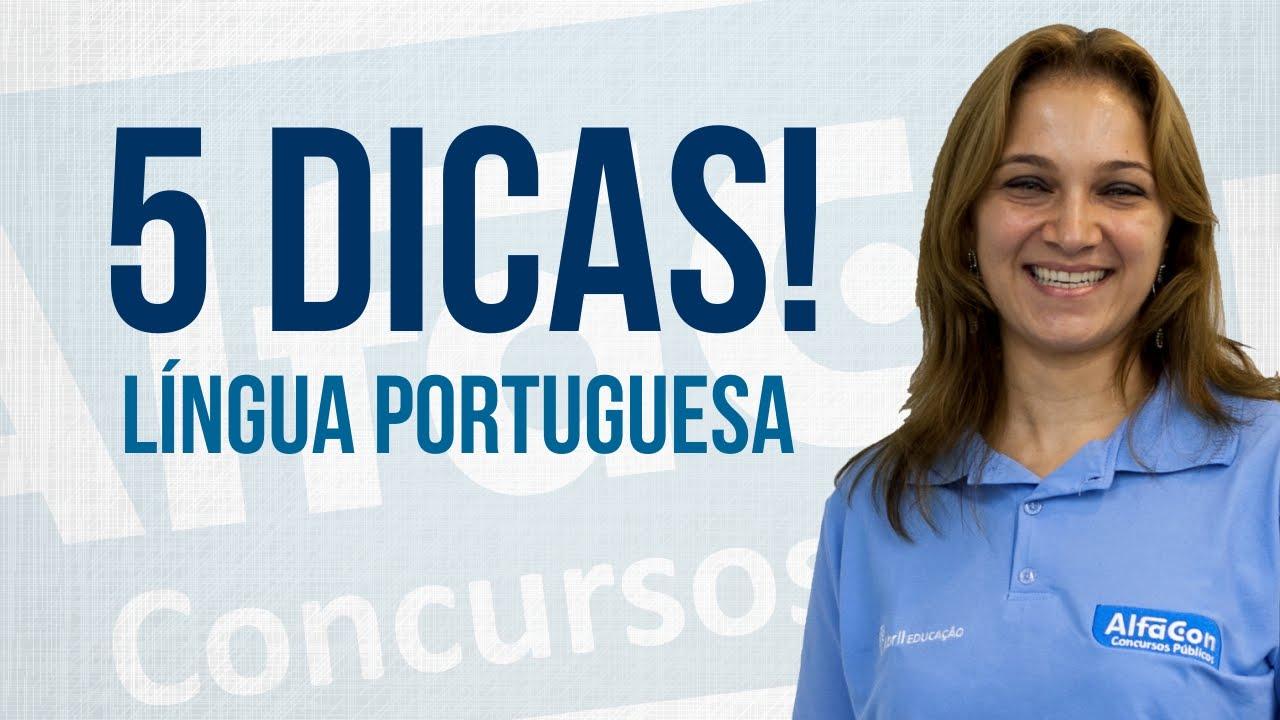 5 Dicas de Português TJ-SP - AlfaCon Concursos Públicos