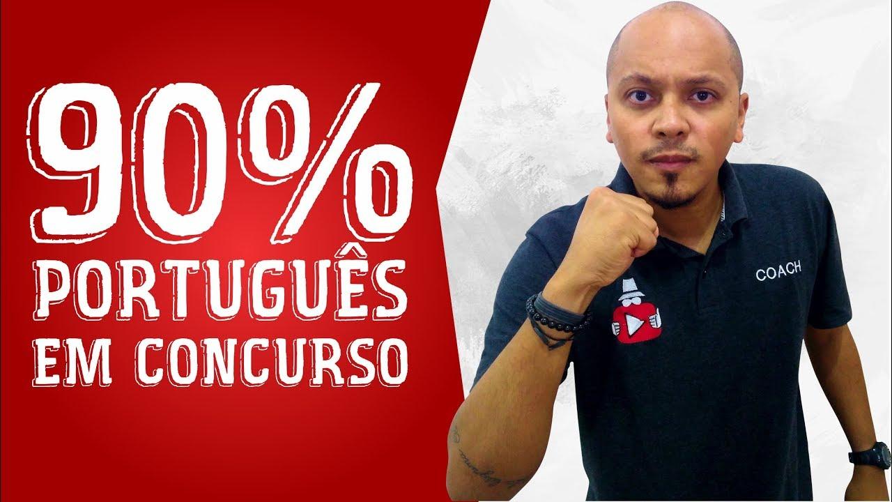 Como acertar 90% de Português em CONCURSOS - Coach Eduardo Cortez