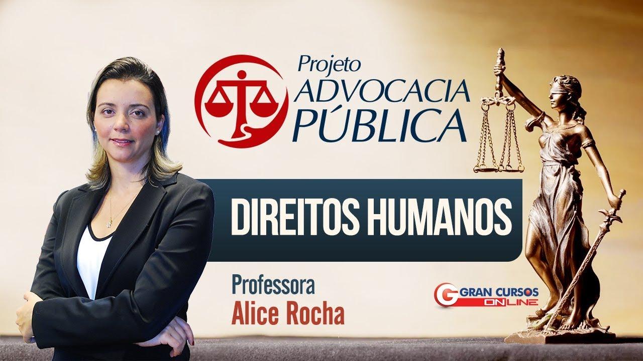 Concursos Advocacia Pública | 200 Dicas | Decisões da Corte Interamericana - Prof. Alice Rocha