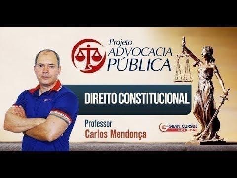 Concursos Advocacia Pública | 200 Dicas | Direito Constitucional com o Professor Carlos Mendonça