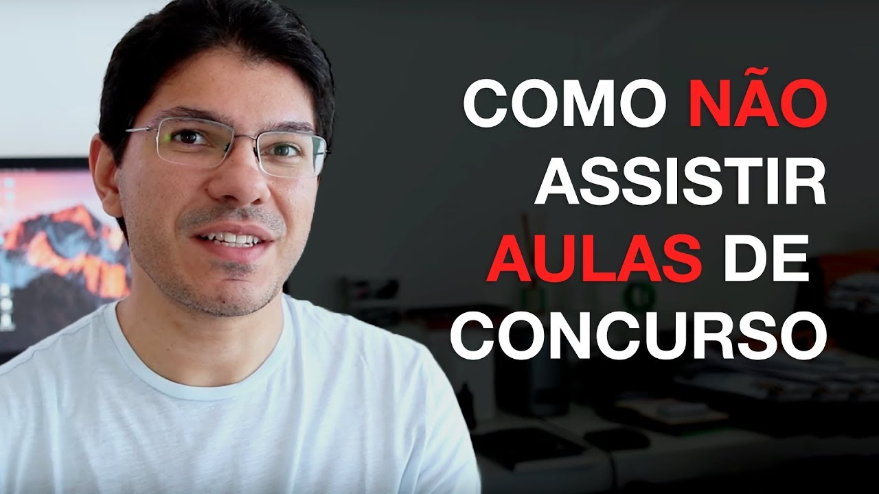 [DICA] Como não Assistir Aulas de Concurso I Gerson Aragão I S15