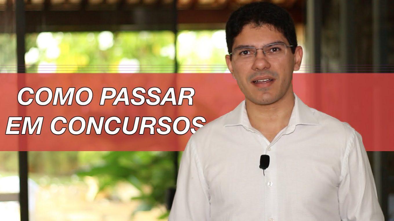 [Dica] Como Passar em Concursos | Gerson Aragão