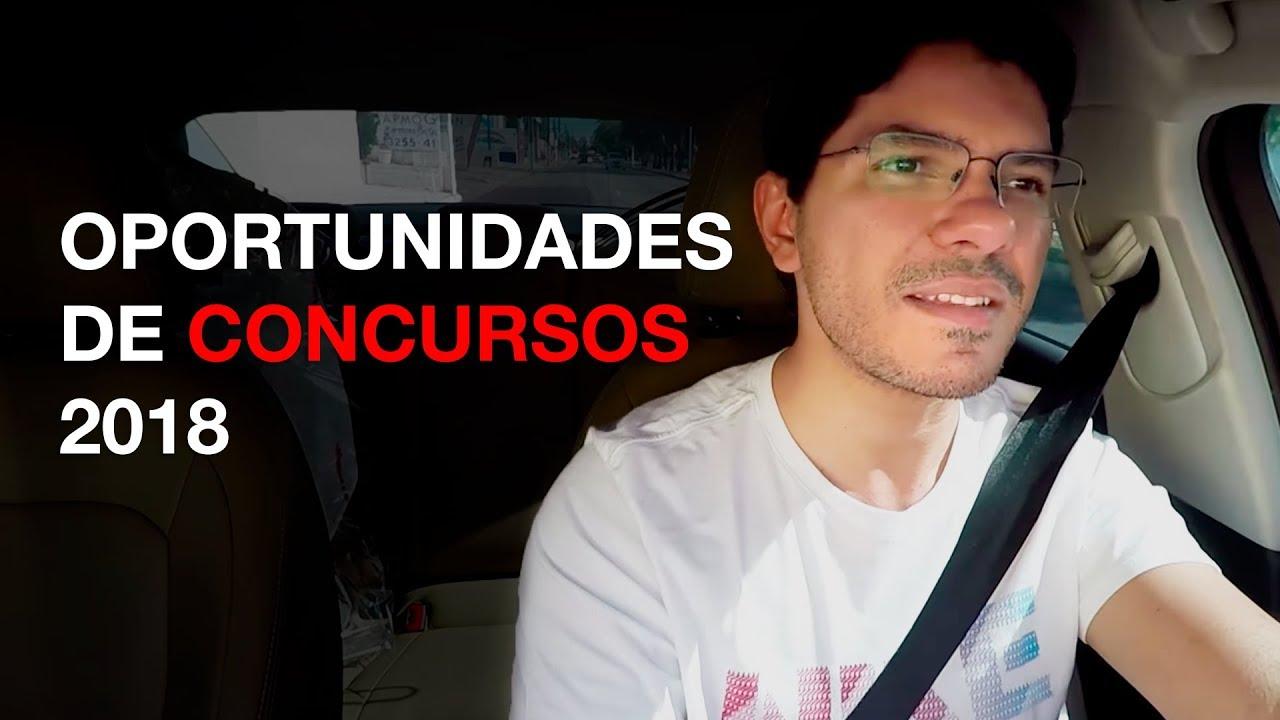 [Dica] Oportunidades de concursos 2018 I Gerson Aragão I S15