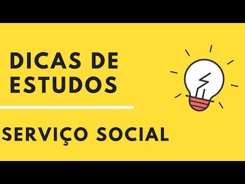 Dicas de estudos para concursos - Serviço Social