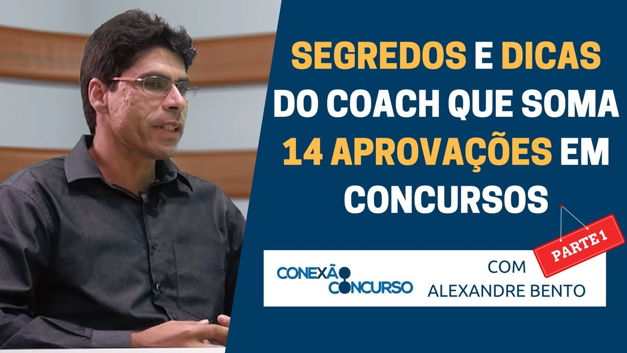 Dicas do coach que soma 14 aprovações em concursos - Parte 1/2