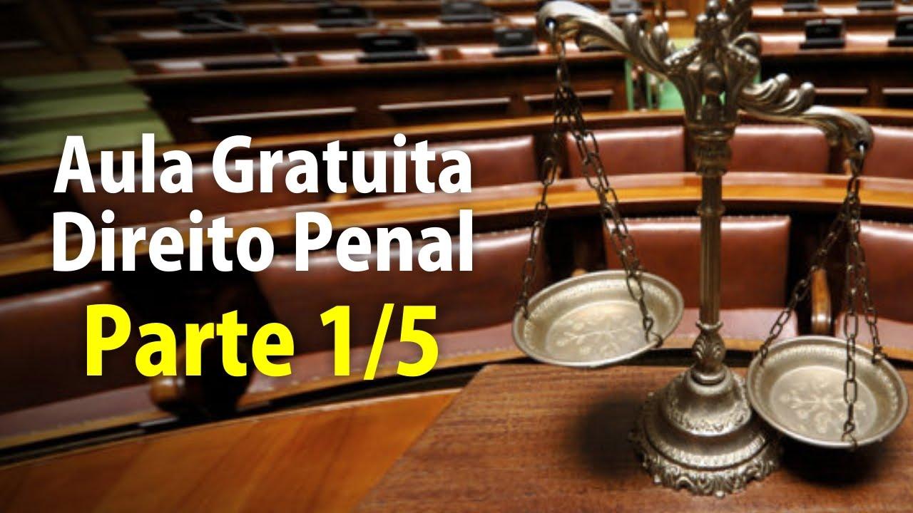 Direito Penal - Aula Gratuita Atualizada - 1/5 - AEP Concursos Públicos