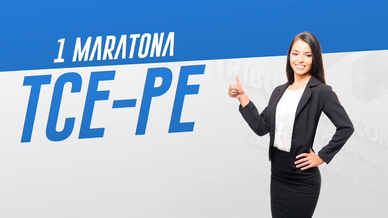 1º Maratona Concurso TCE-PE | 10h de Aulas Gratuitas
