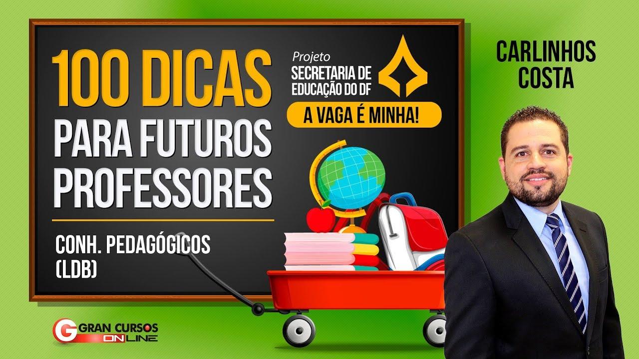 100 dicas para Futuros Professores | Educação Especial - Prof. Carlinhos Costa