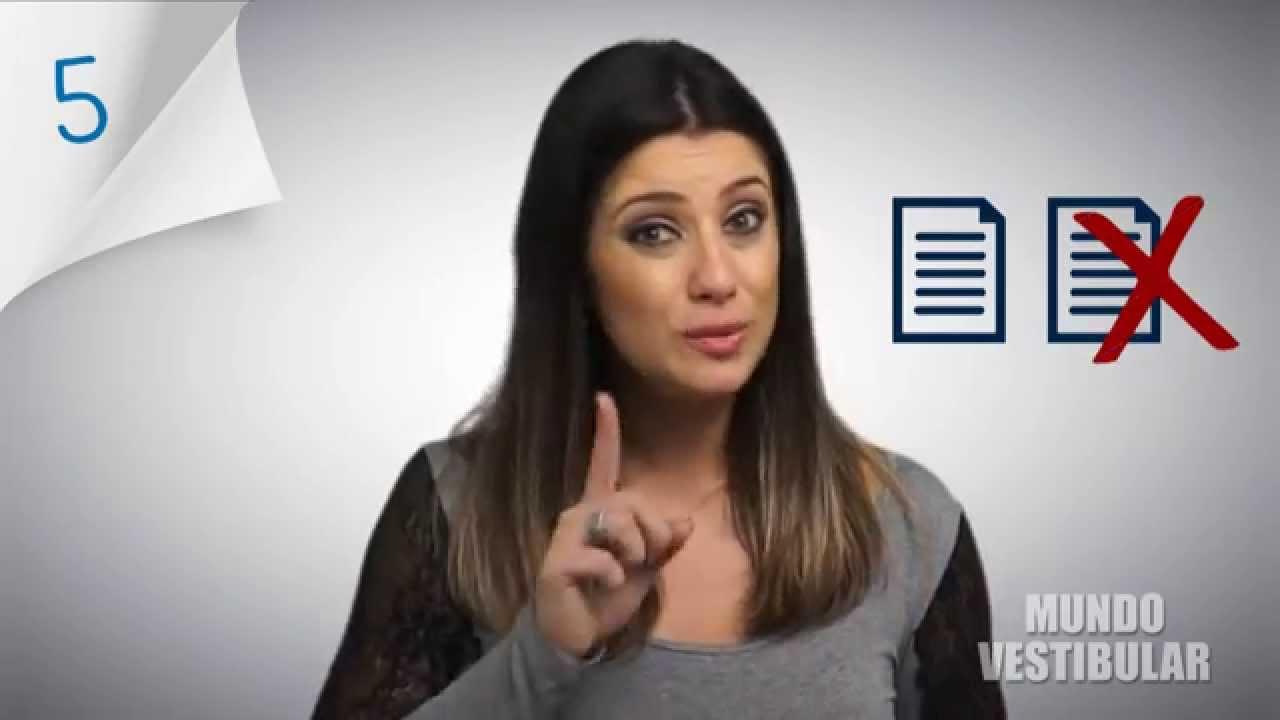 8 dicas para fazer uma ótima redação dissertativa-argumentativa