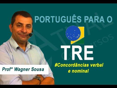 Aula Grátis de Português para o TRE - Prof. Wagner Sousa - ATUAL CONCURSOS