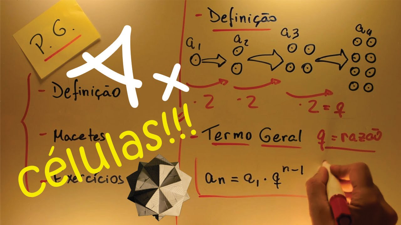Aulas A+ Progressão Geométrica PG - Definição e Macetes