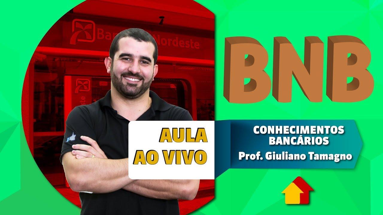 Concurso BNB   Aula AO VIVO   Conhecimentos Bancários   27/09