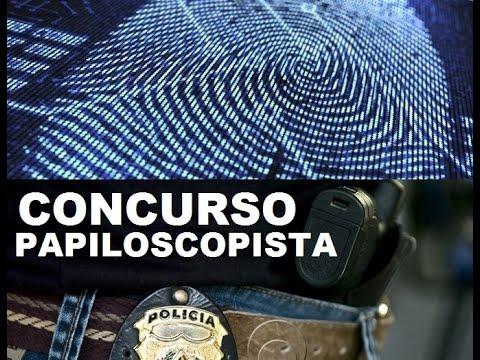 Concurso - Papiloscopista [Polícia civil sp 2018]