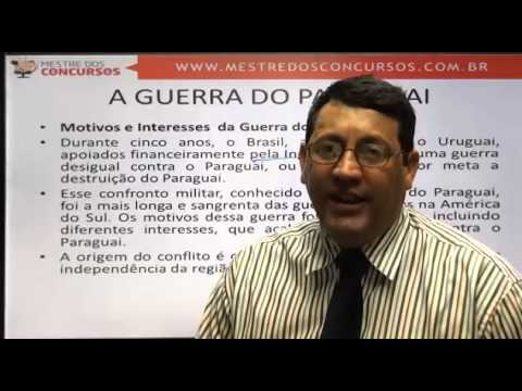 Vídeo Aula grátis - História - Prof. Luciano de Paula  - Mestre dos Concursos