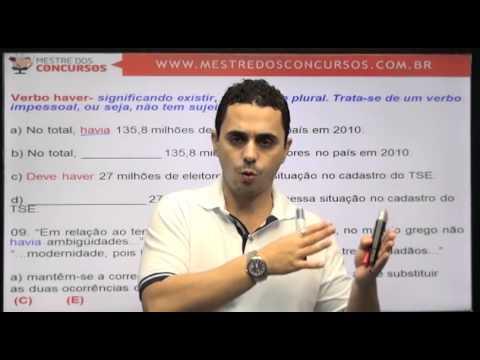 Vídeo Aula grátis - Português - Prof. Antônio Duarte  - Mestre dos Concursos