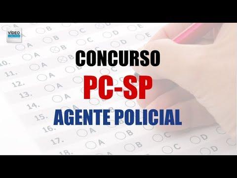 Concurso Polícia Civil SP - Agente Policial - Informações e Apostila Específica