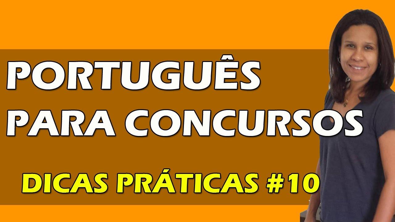 Dicas de Vírgula | Português para Concursos | #10