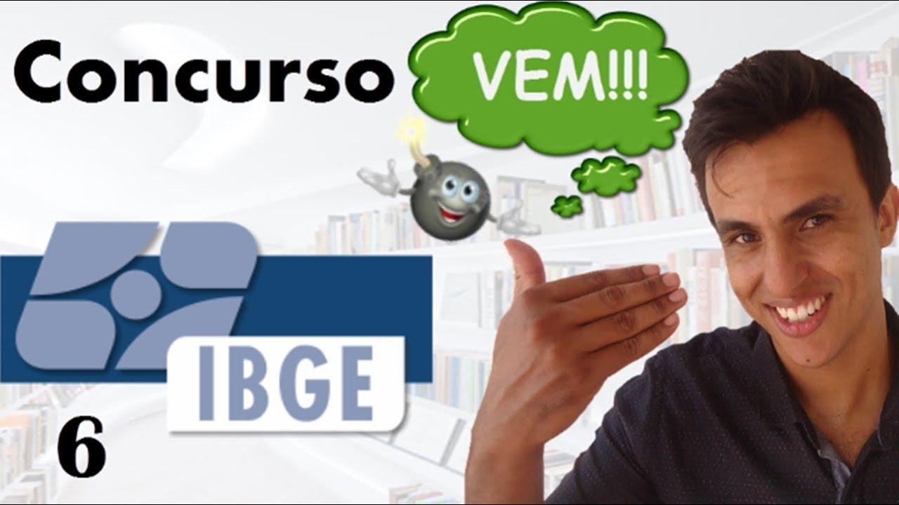 Concurso IBGE 2016 /Aula 6 / FGV / Conjuntos numéricos/Matemática /