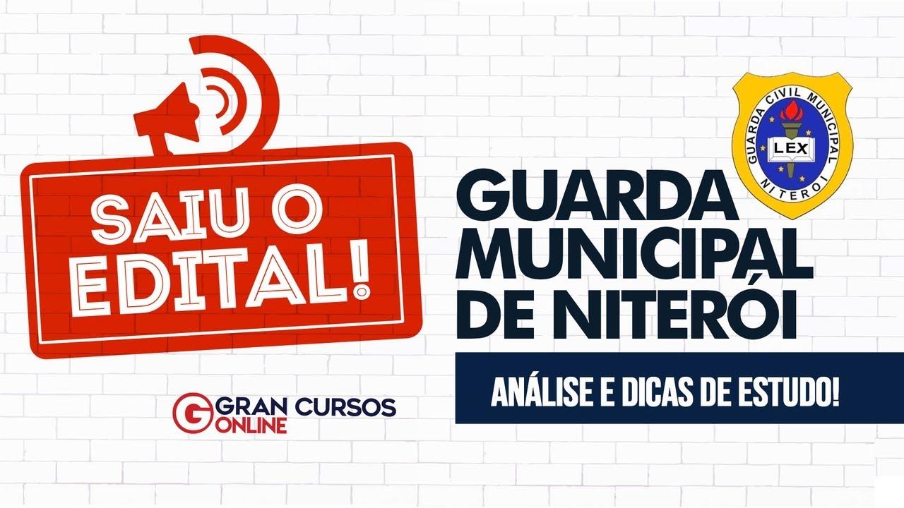 Concurso Guarda Municipal Niterói-RJ | Análise do Edital e Dicas de Estudo - Como Passar?