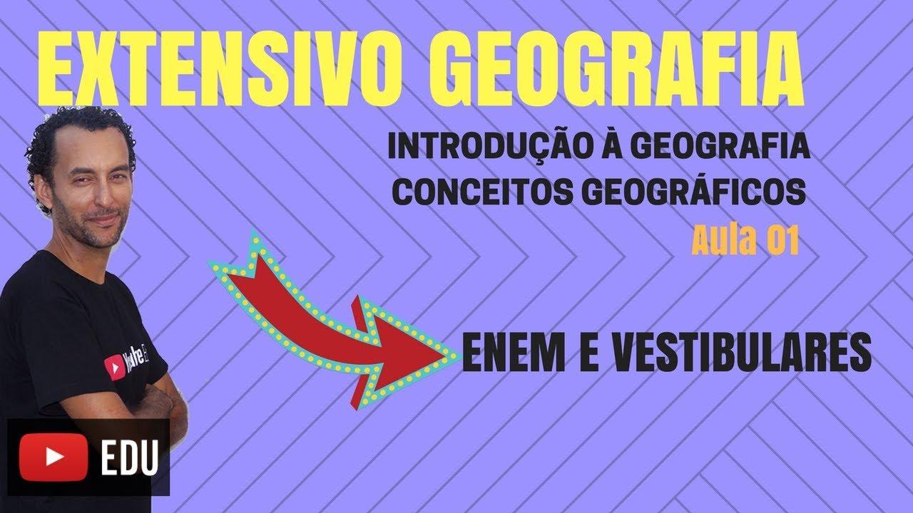 Geografia| Conceitos Geográficos | Paisagem | Território | Lugar | Região