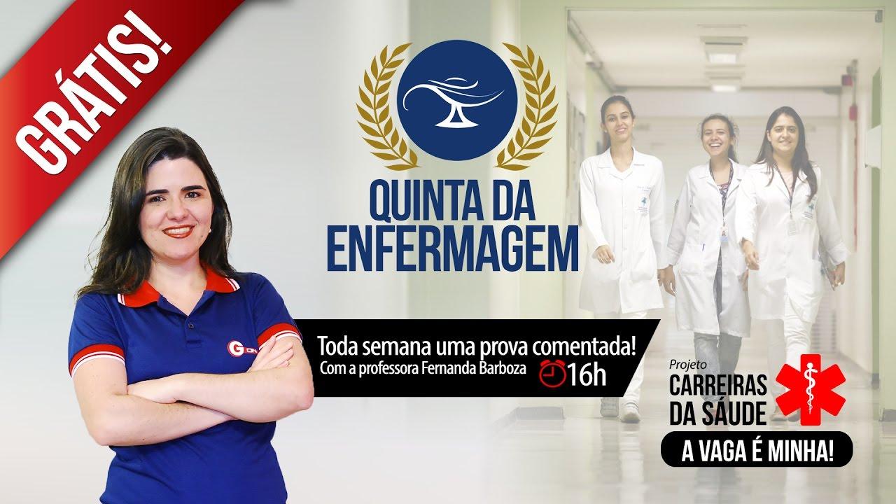 Aula Grátis Concursos Enfermagem | Profª Fernanda Barboza | Ep. 06