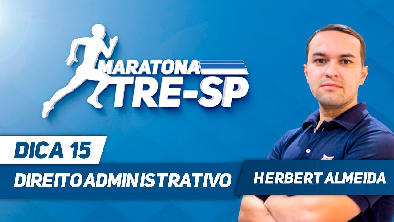 Concurso TRE SP - Aula 15 - Direito Administrativo