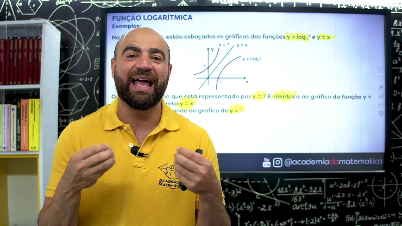 Dicas – Macetes da Matemática | FUNÇÃO LOGARÍTMICA |Viste a MELHOR plataforma do Brasil!