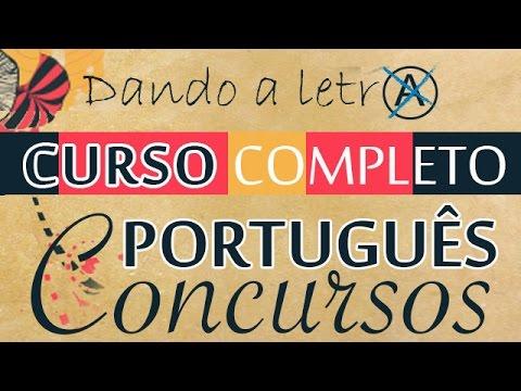 Português p Concursos - Aula 2 - P1 - Morf - Classificação Verbal