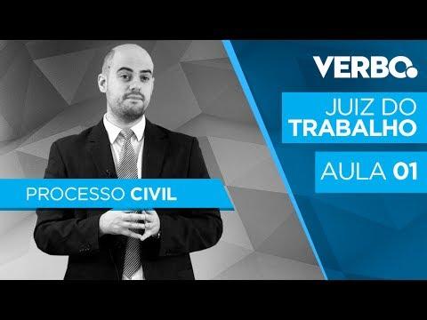 Juiz do Trabalho - Concurso Nacional - AULA 1 - PROCESSO CIVIL