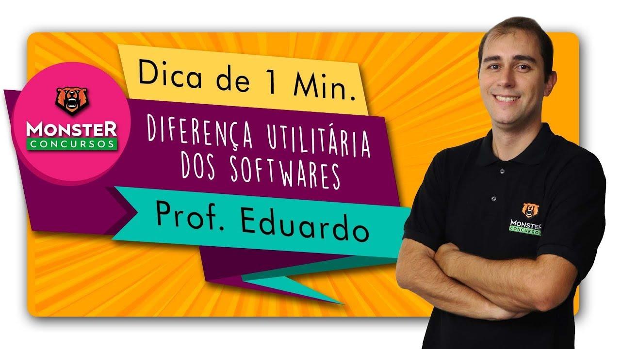 Dica de 1 Minuto - Informatica - Diferença entre freeware , software e software livre