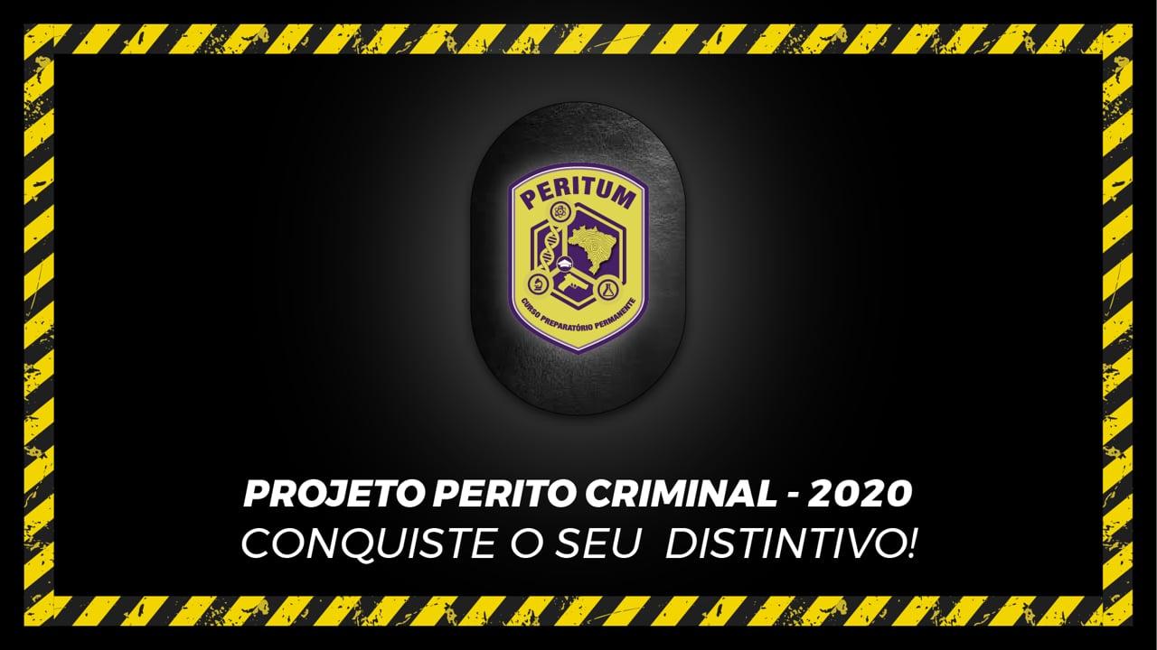 PERITUM - Preparatório On-line Permanente para as Carreiras Policiais de Perícia Criminal