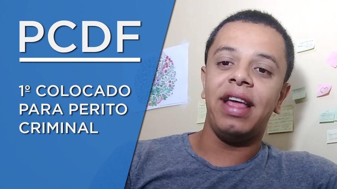 Gabriel Souza: 1º lugar para Perito Criminal PCDF (Área Geologia) - AlfaCon Concursos Públicos