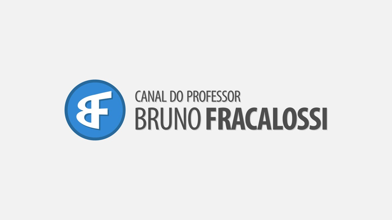 Vinheta Canal do Professor Bruno Fracalossi