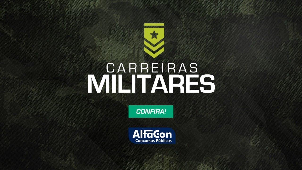 AO VIVO | Aula de Matemática para carreiras militares - AlfaCon