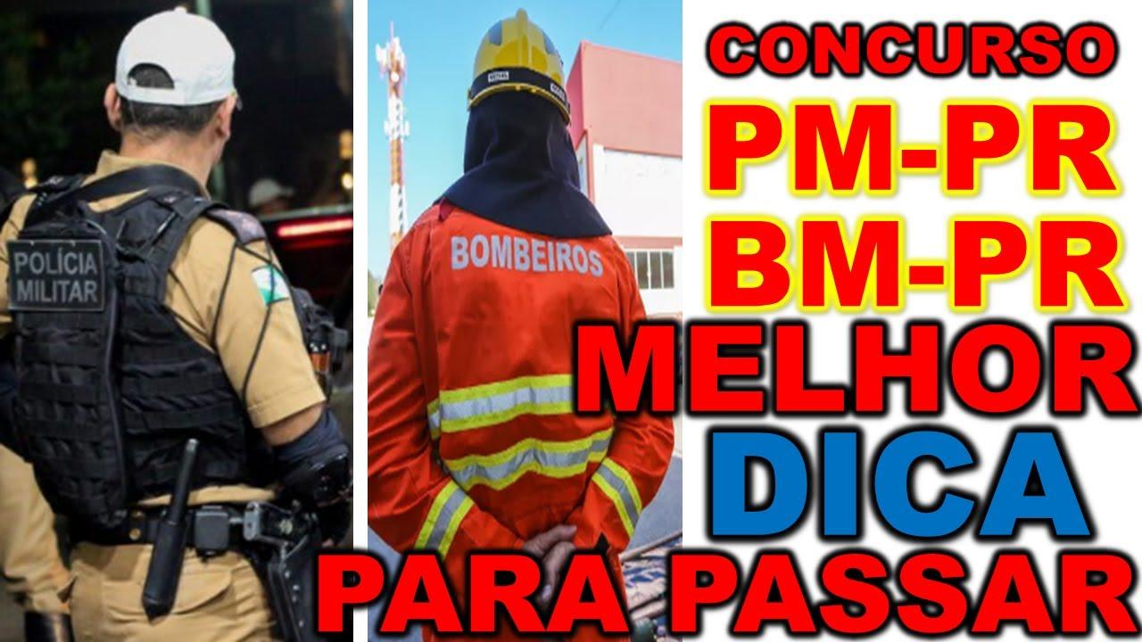 Concurso da PMPR e CBMPR 2020 EDITAL com 2400 vagas MELHOR INFORMAÇÃO e DICAS INÉDITAS DEFINITIVAS