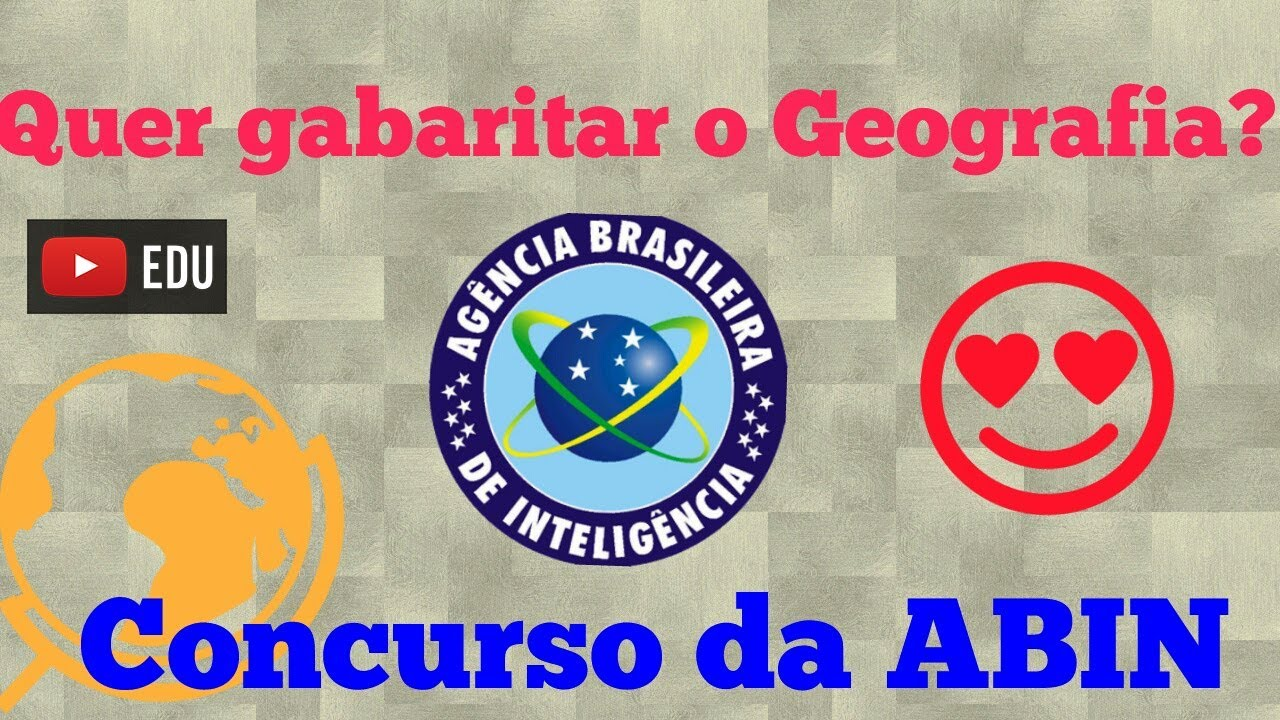 Geografia para o concurso da ABIN - Aula 1🔥 #gabaritaGeo