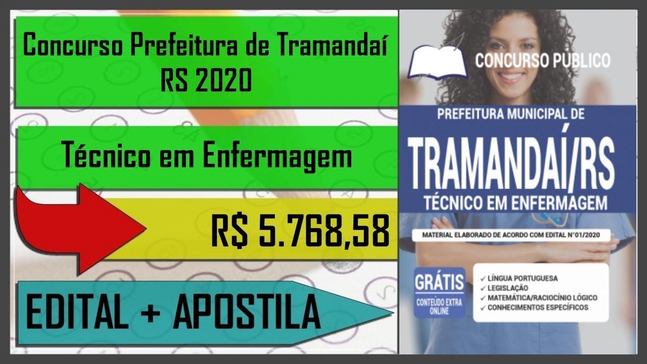 Apostila de Técnico em Enfermagem - Concurso Prefeitura de Tramandaí - RS 2020