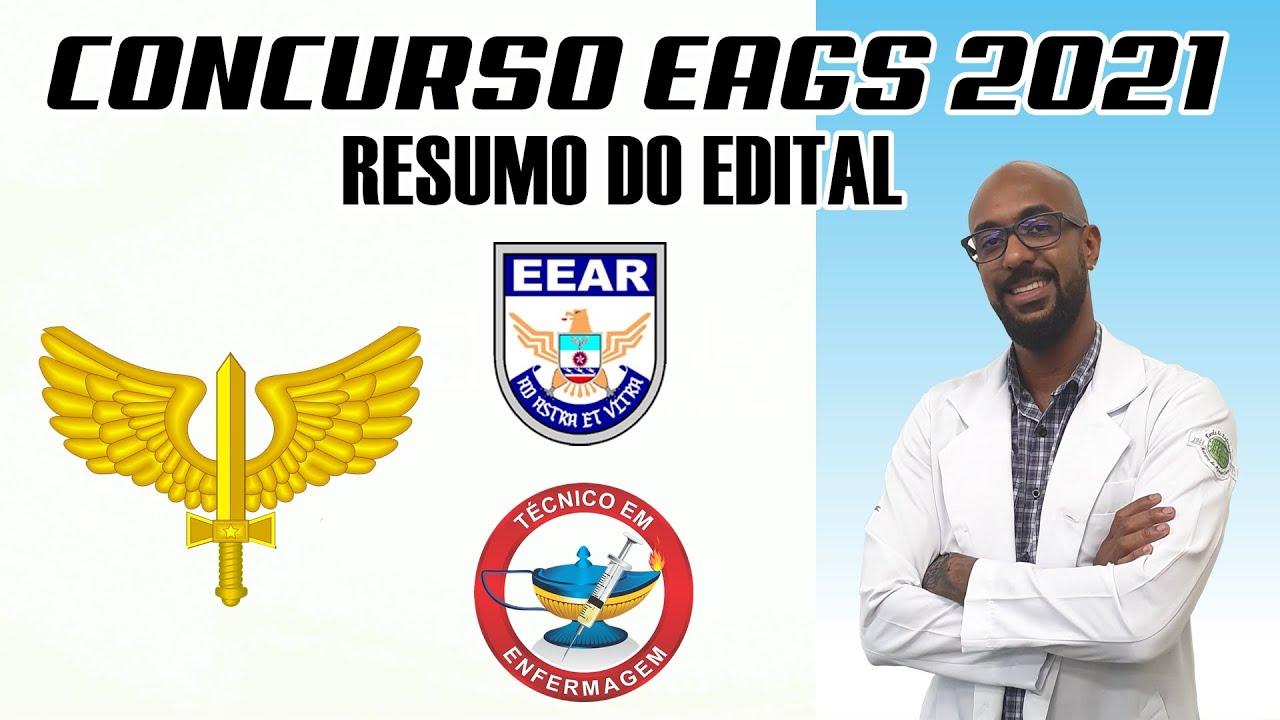 CONCURSO EAGS 2021 - RESUMO DO EDITAL
