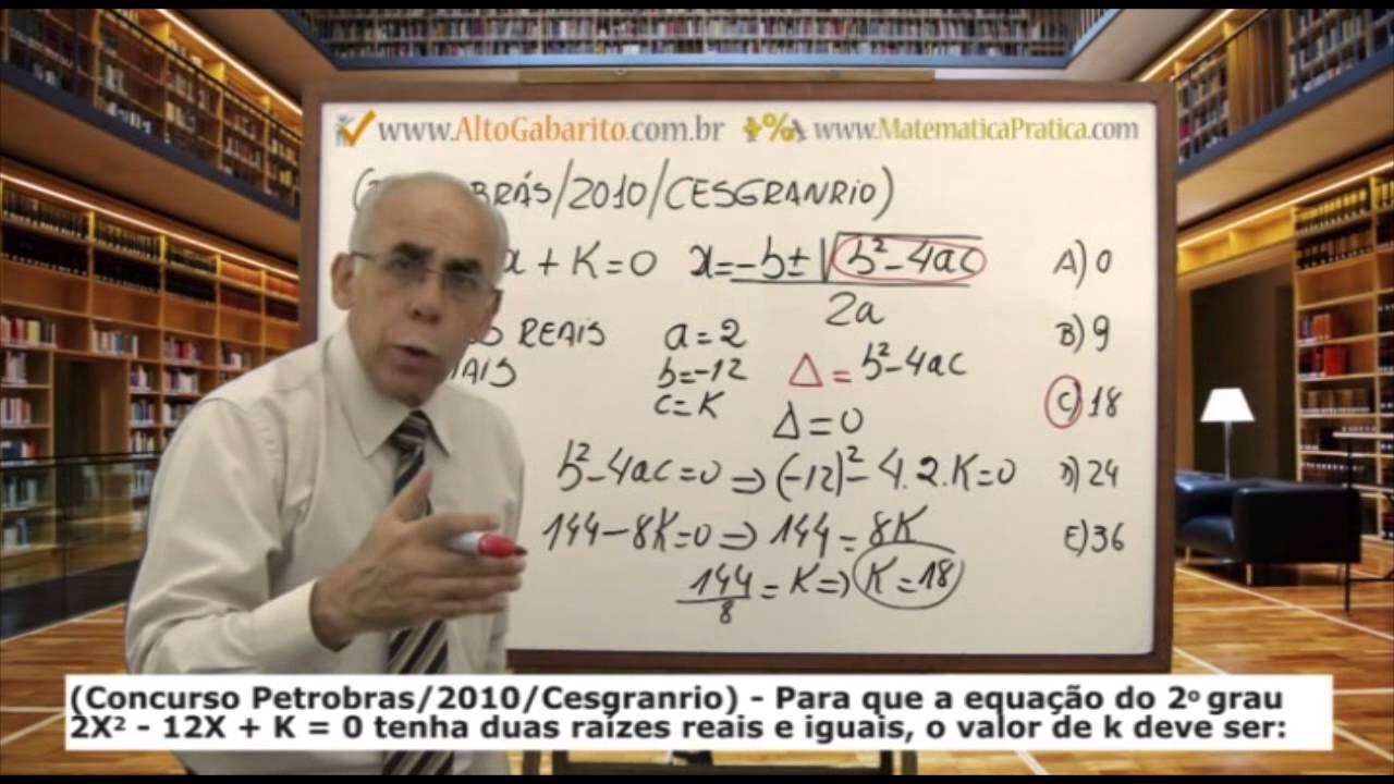 CONCURSO PETROBRAS - Testes Comentados - Banca Cesgranrio - Aulas Grátis