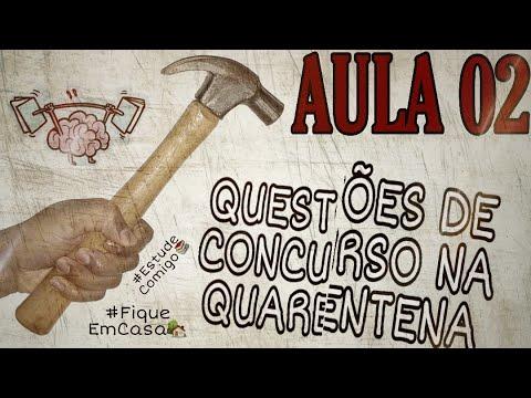 Respondendo Questões de Concursos Públicos - AULA 02 #Itaipava do Grajaú/MA