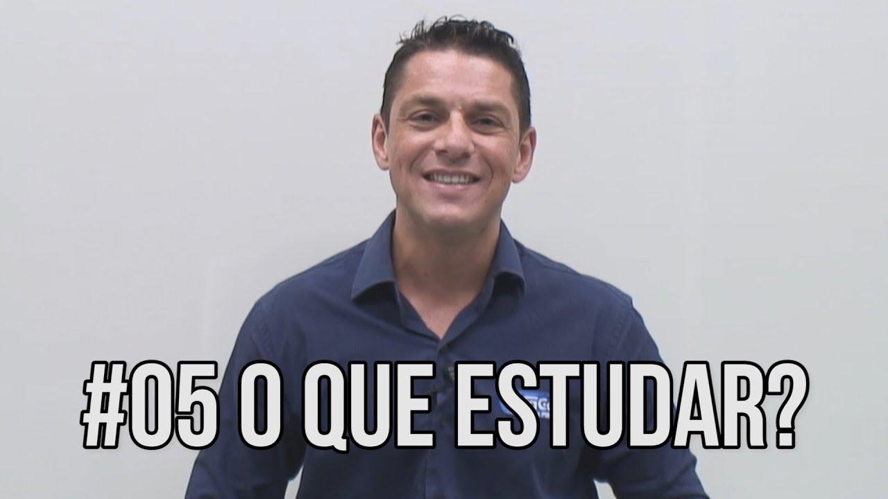 Série Organizando Seus Estudos - #05 O que estudar - Evandro Guedes - AlfaCon Concursos Públicos