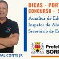 CONCURSO DE SOROCABA - DICAS DE PORTUGUÊS - QUESTÃO DE PONTUAÇÃO E SENTIDO