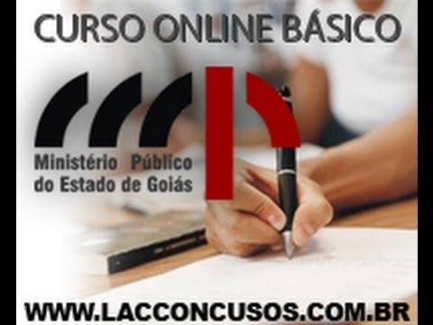 Concurso MPE GO - Ministério Público de Goiás - Assistente e Secretário