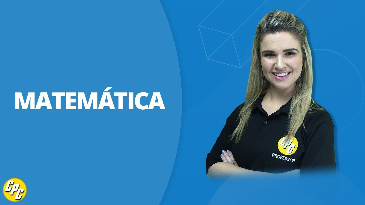 Matemática para concursos com Maria Alice