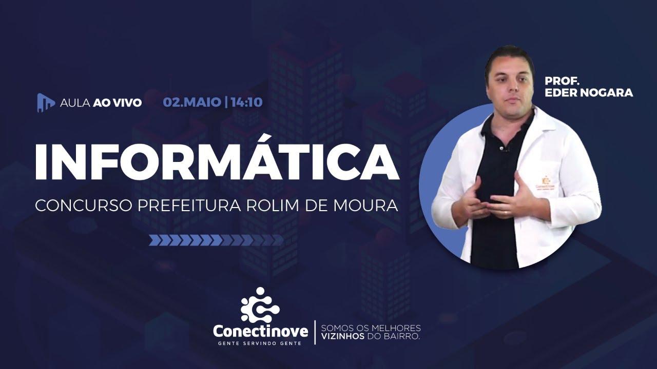 AULA DE INFORMÁTICA - CONCURSO PREFEITURA | CONECTINOVE
