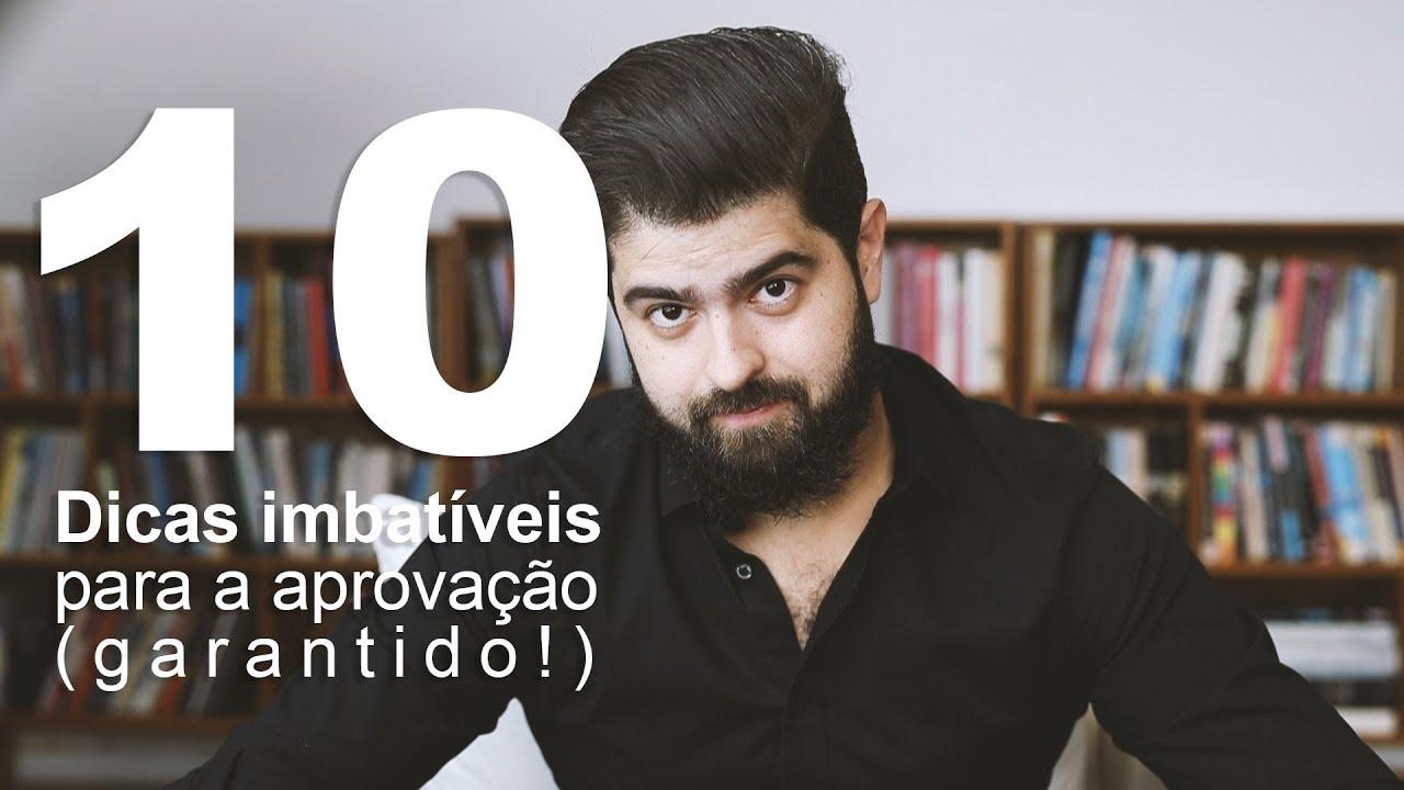 (1o de abril) GARANTIDO! 10 dicas para você passar em concursos PRA ONTEM! | Fernando Mesquita