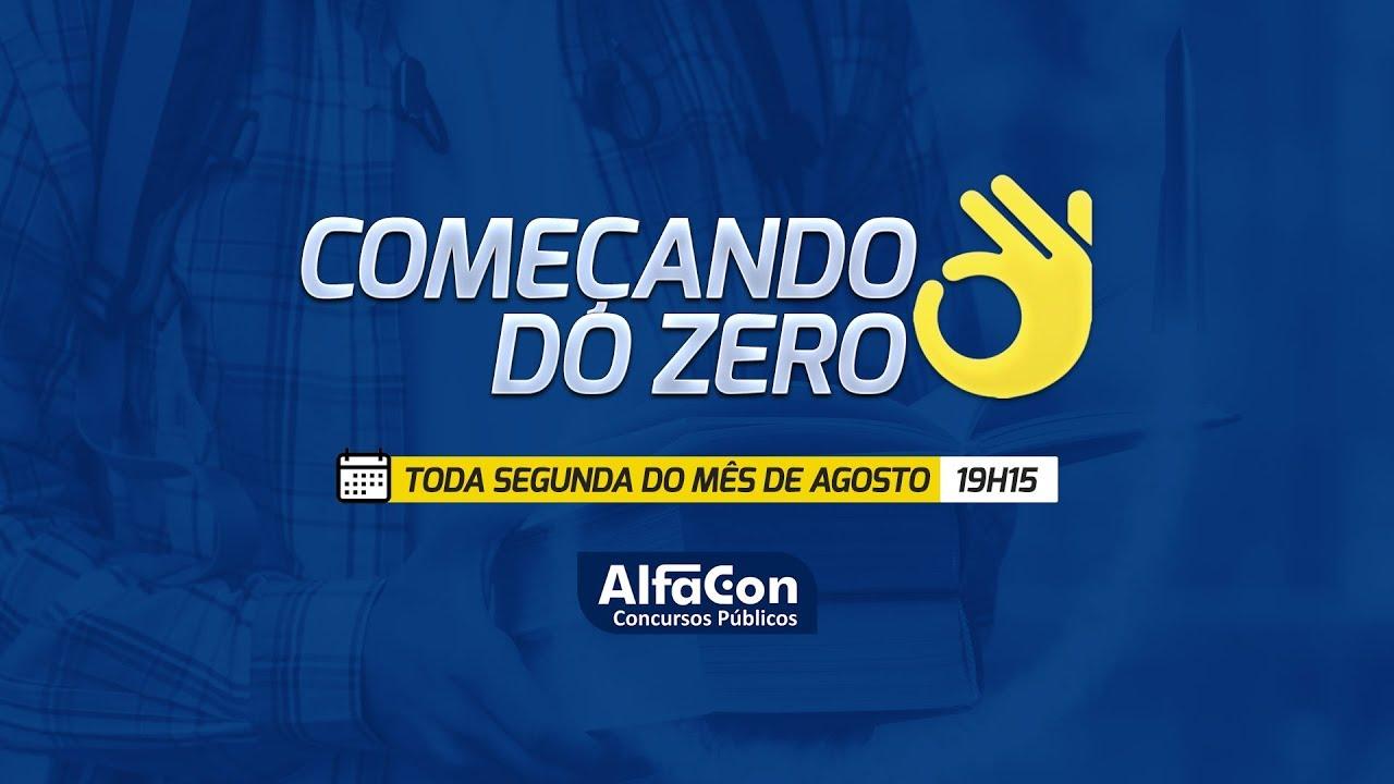 Aula de Língua Portuguesa - Ao Vivo - Prof. Giancarla Bombonato - Começando do Zero - AlfaCon