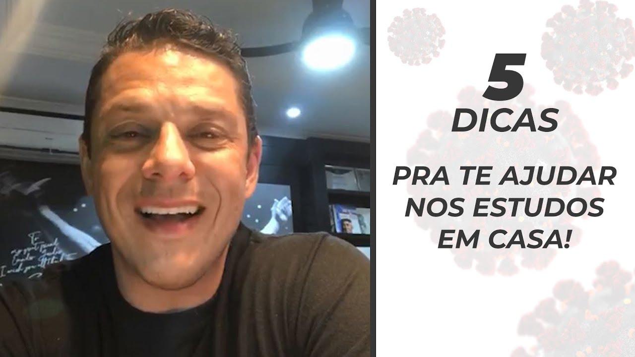 5 dicas de estudo para concursos na quarentena - Evandro Guedes - AlfaCon