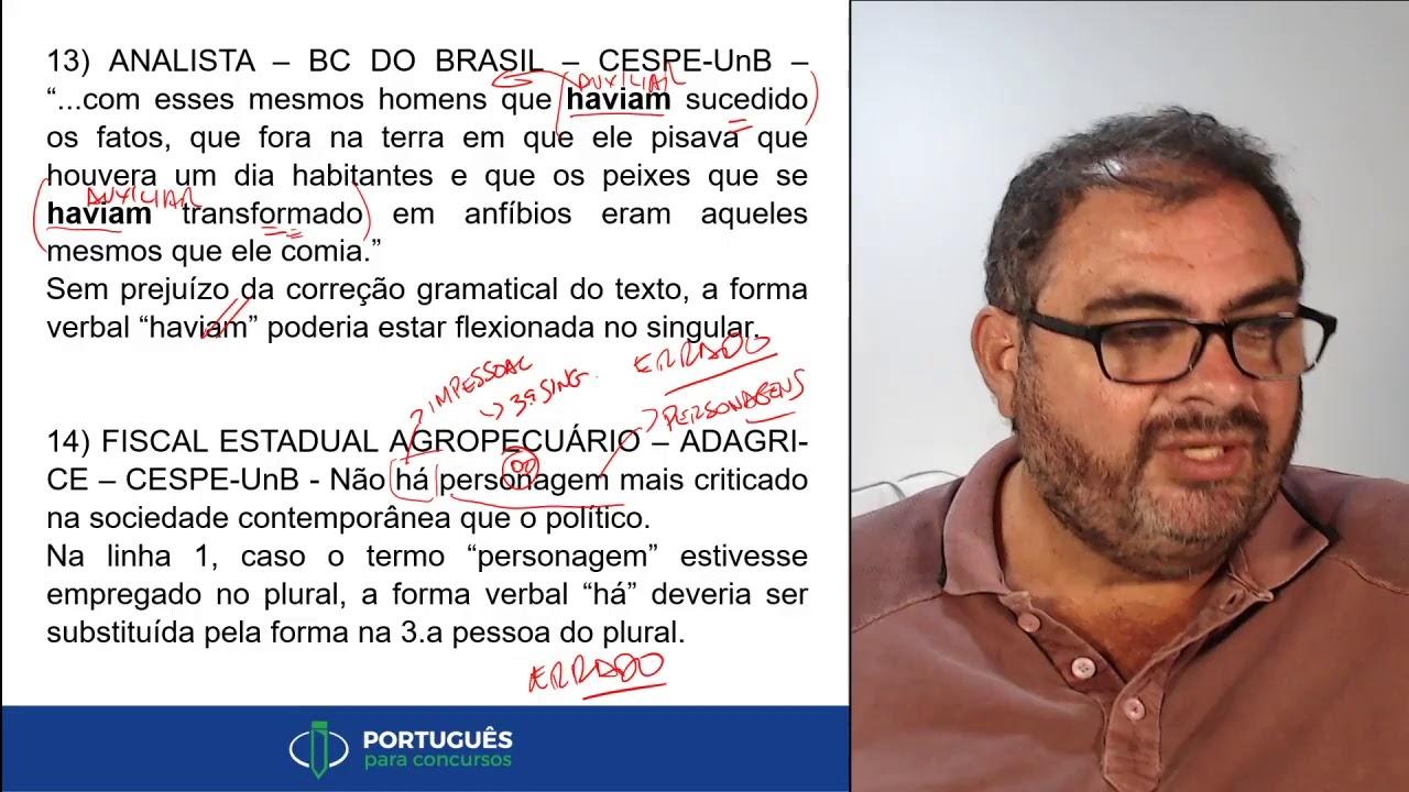 Aula ao vivo #54 Português para concursos