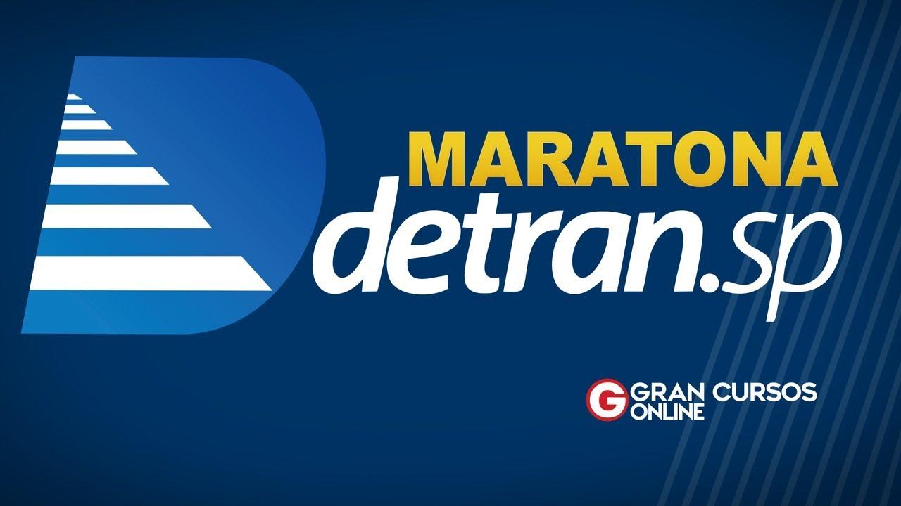 Concurso Detran SP: Maratona com 7 horas de aulas AQUI!
